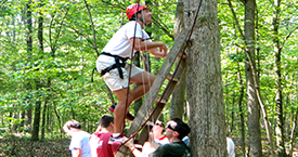 horizons hospitality activities page button ropes course
